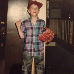 It wasn't all bad.  At one point in my life I was a trendsetting dresser.