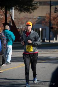 Half Marathon #3: Magic City Half.  Thanks to Ryan Murphy for always being there to get pictures!